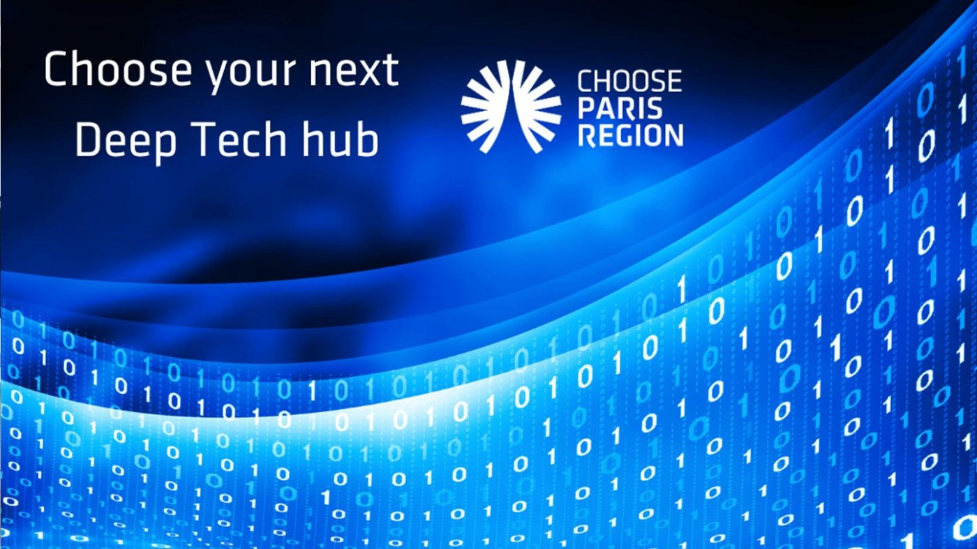 promising future for DeepTech  in Paris Region
